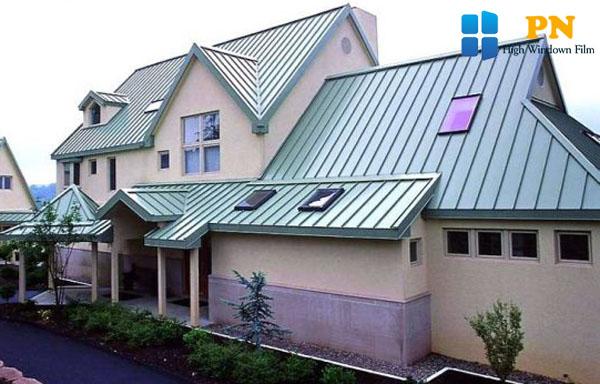 Cách chống nóng cho nhà mái tôn