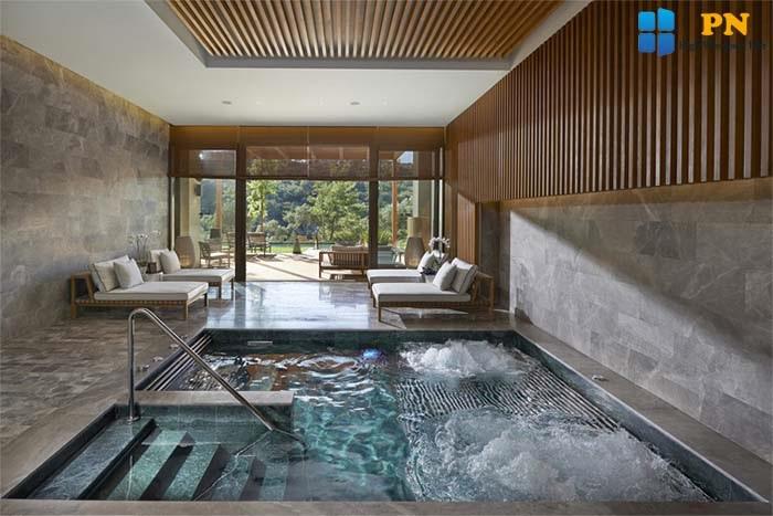 Tạo một hồ bơi nhỏ nếu bạn có đủ chi phí