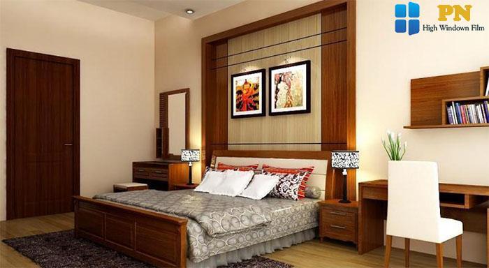 Dùng nội thất gỗ để trang trí