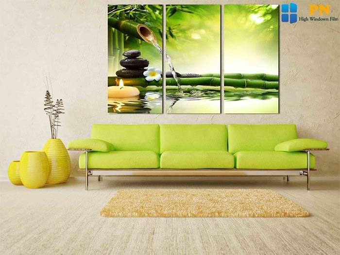 Trang trí spa bằng tranh treo tường