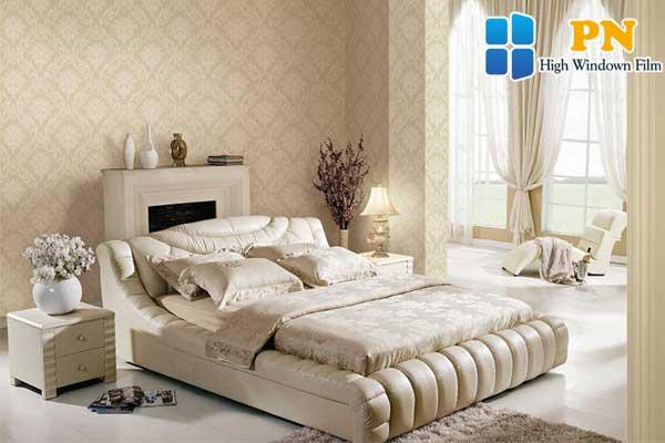 Giấy dán tường tạo sự trong lành cho không khí trong phòng
