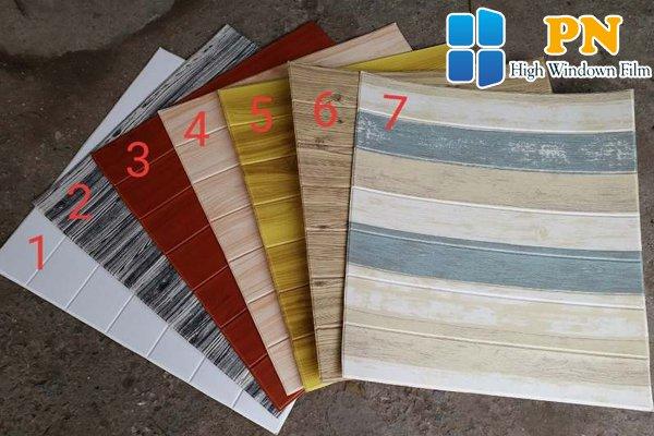 Tìm hiểu giấy dán tường giả gỗ