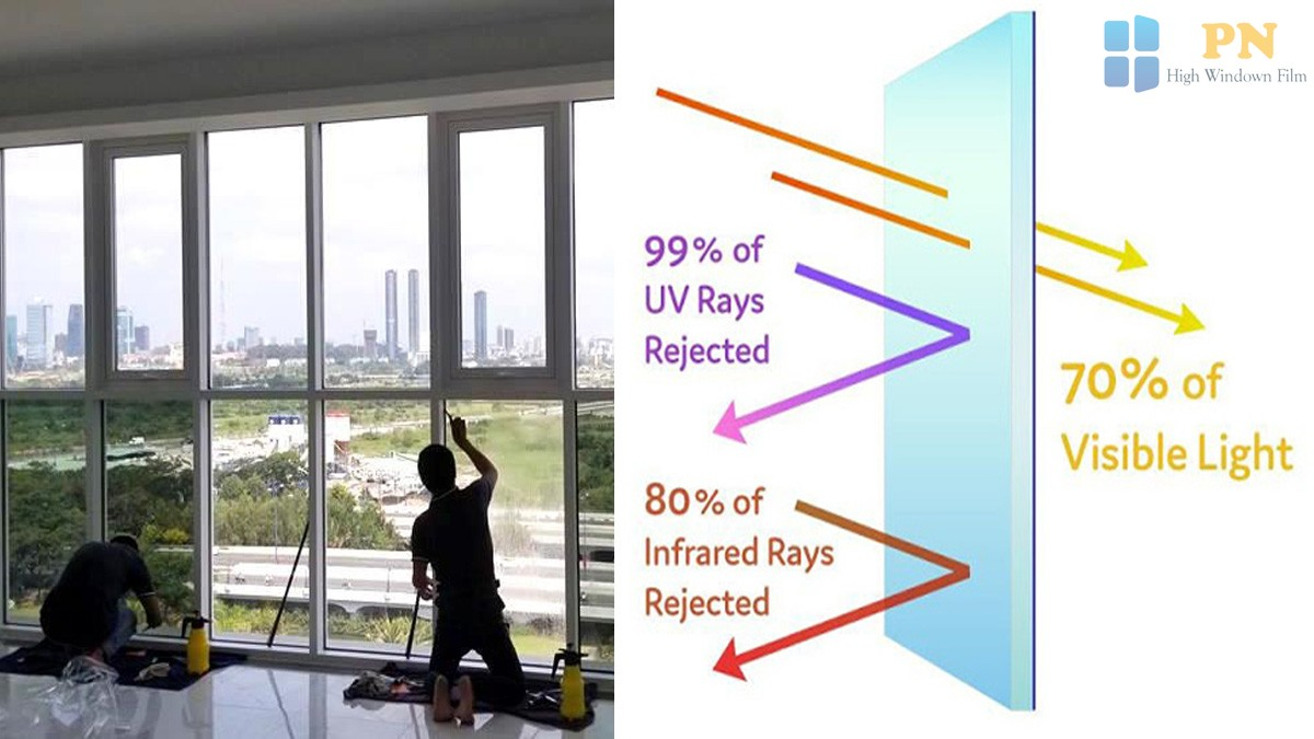 film cách nhiệt dán kính cửa sổ