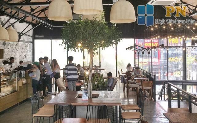 phim cách nhiệt nhà hàng quán cà phê