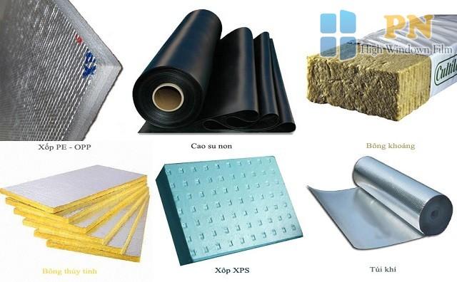 Các loại vật liệu cách nhiệt