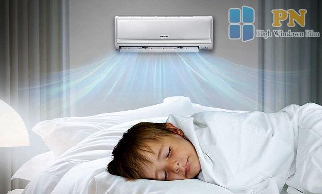 không để nhiệt độ quá thấp vào ban đêm