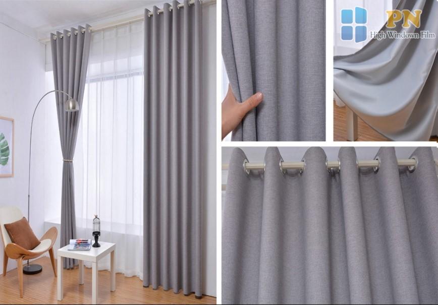 rèm vải cách nhiệt làm từ chất liệu gì?